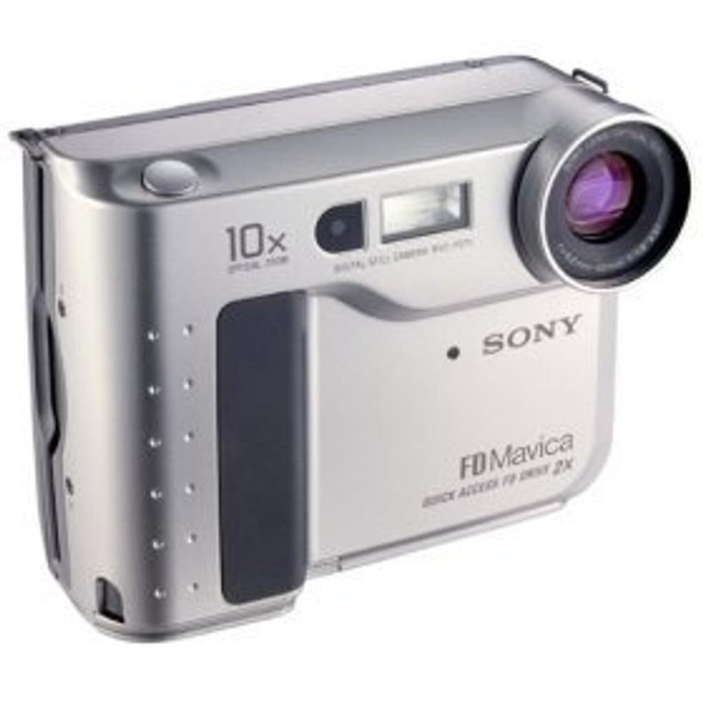 Sony Mavica Camera MVC-FD75