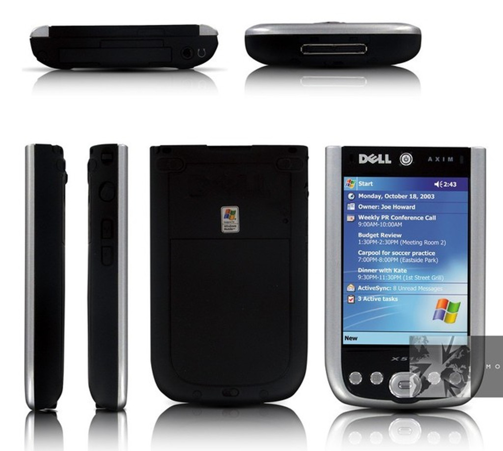 Dell Axim X50v - Win Mobile for Pocket PC 2003 2nd Ed 624 MHz