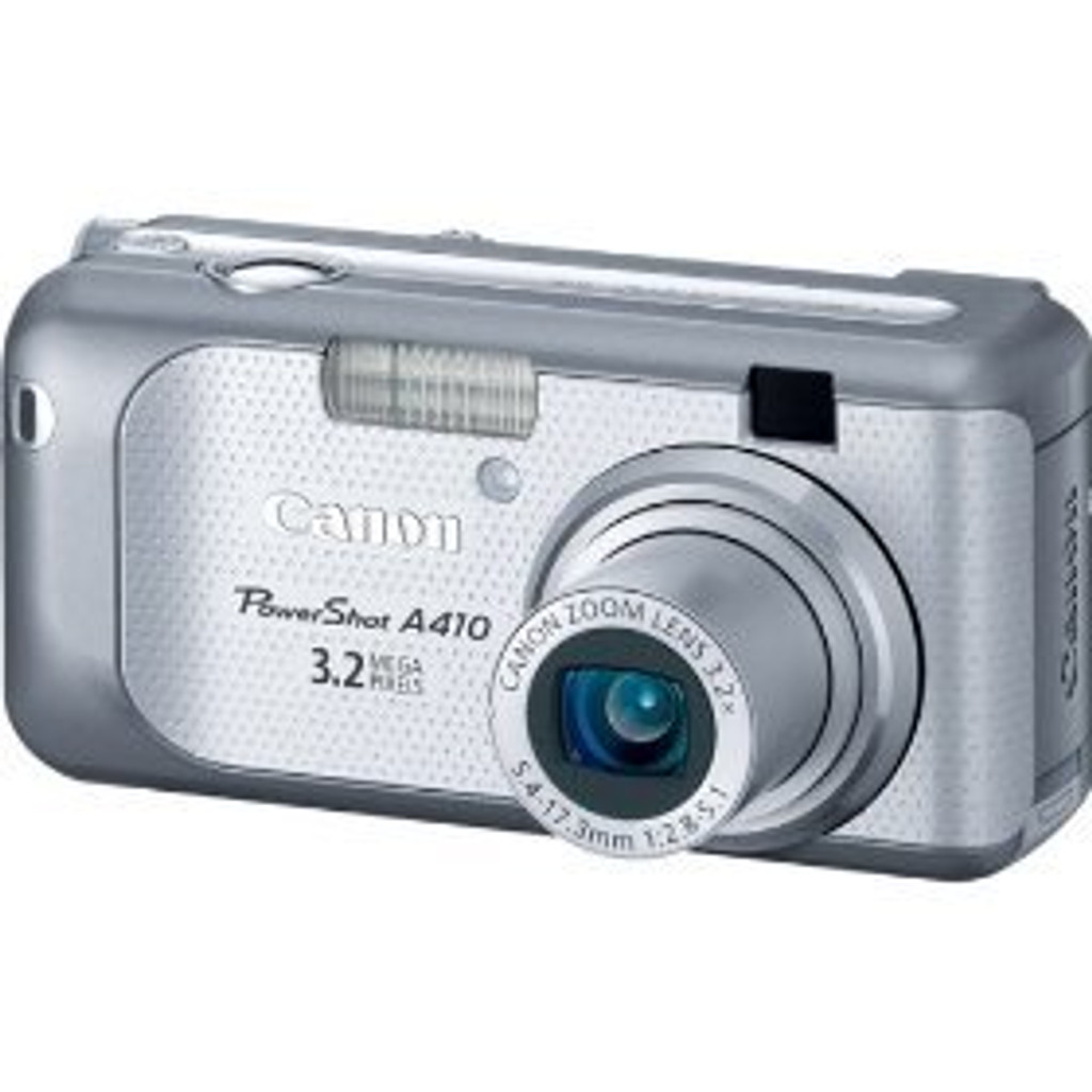 Canon Powershot A410 3.2MP Digital Camera with 3.2x Optical Zoom