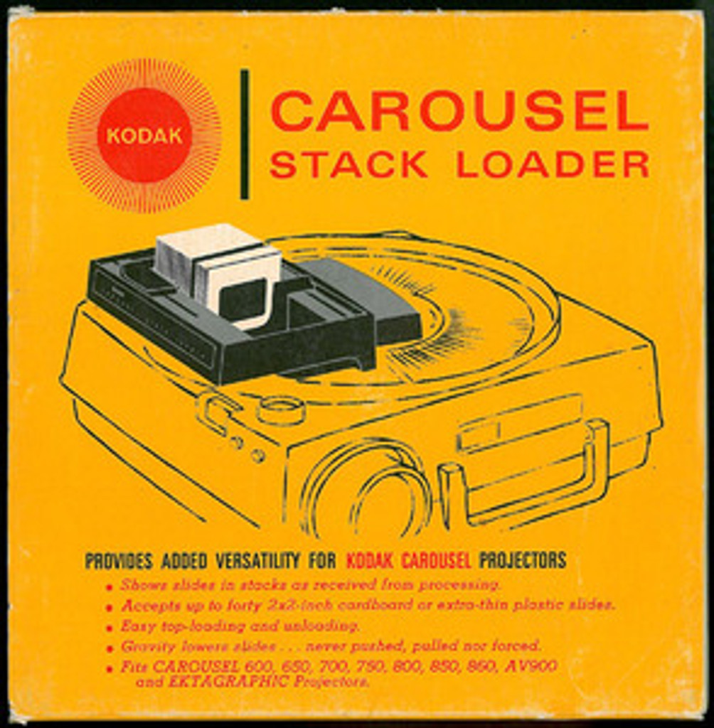 Kodak Slide Projector Stack Loader