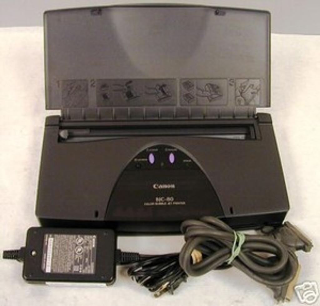Canon BJC 80 Color Ink-jet printer - 4.5 ppm - 30 sheets