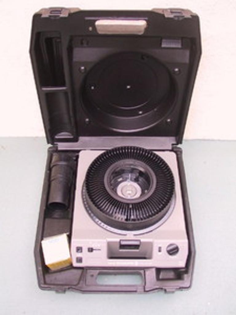Kodak Carousel Slide Projector Hard Tiffen Case
