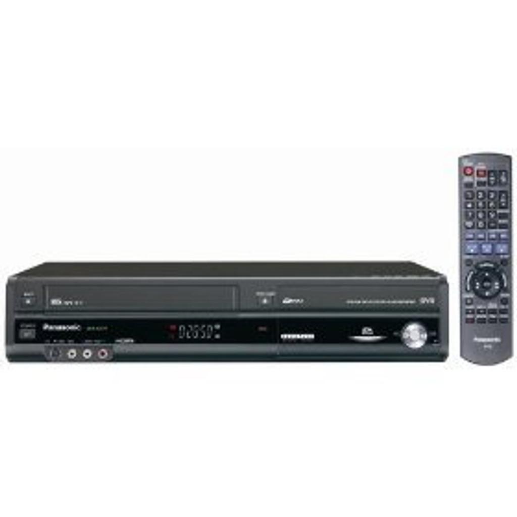 Panasonic DMR-EZ47V DVD-Recorder/VCR Combo digital dvd vhs combo