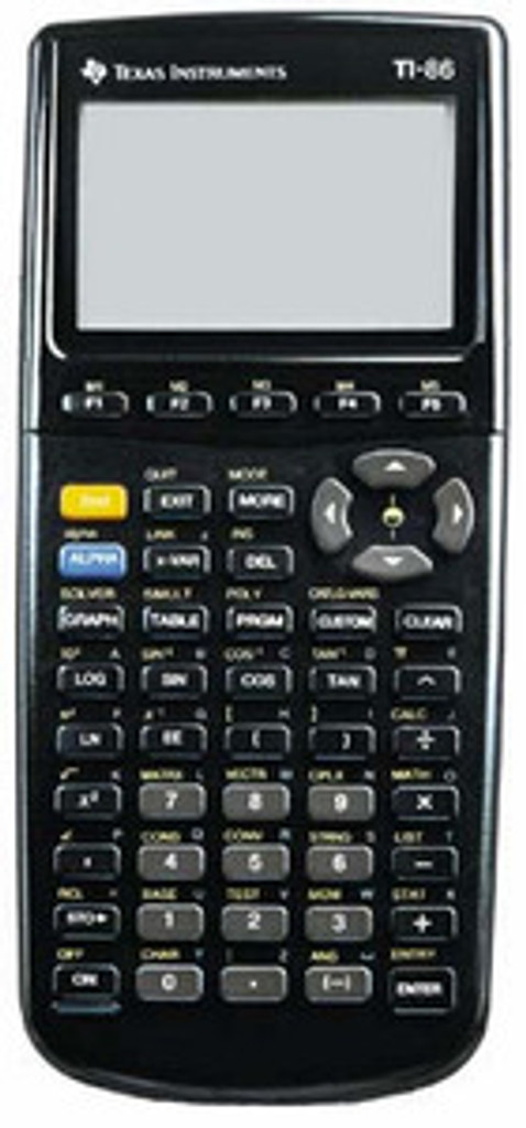 Texas Instruments TI-86 Plus Graphing Calculator
