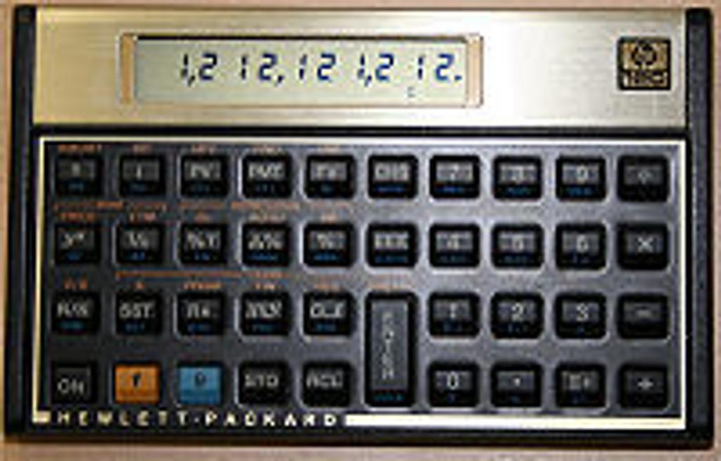 HP 12C Scientific Calculator