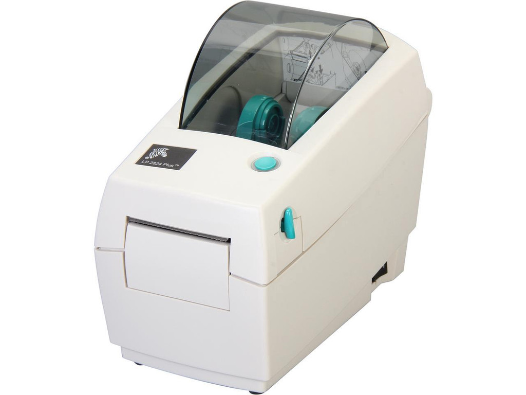 Zebra LP 2824 Plus Monochrome Direct Thermal Label Printer