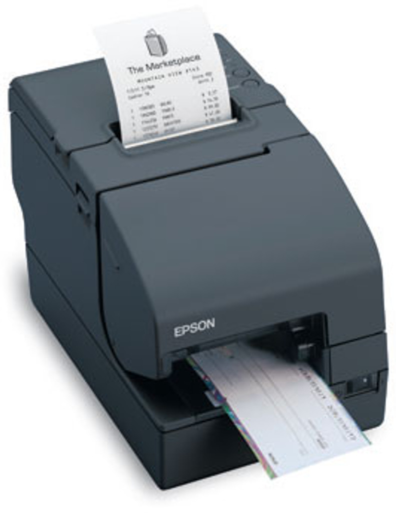 Epson TM-H2000 Receipt Printer with Micr and Check Endorser