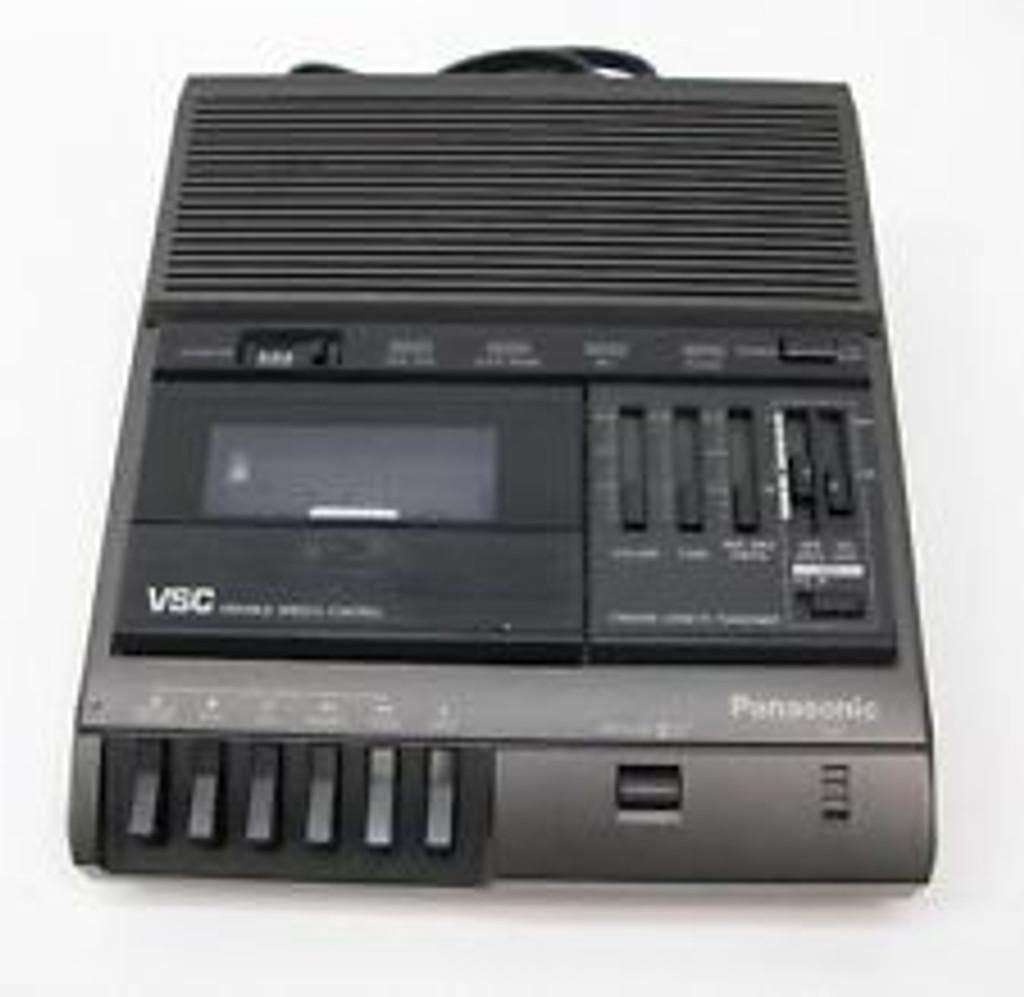 Panasonic RR-830 Cassette Transcriber