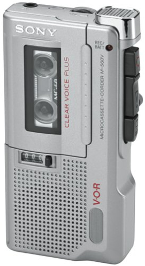 Sony M-560V Microcassette Voice Recorder
