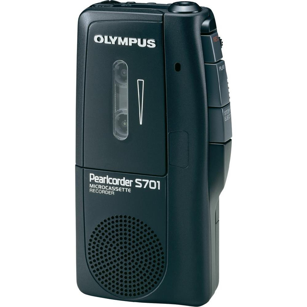 Olympus S701 Pearlcorder Microcassette Recorder