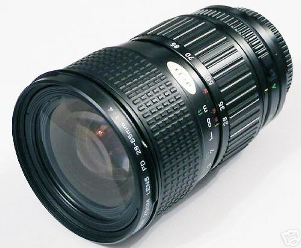 Canon FD 28-85mm lens 1:3.5-4.5