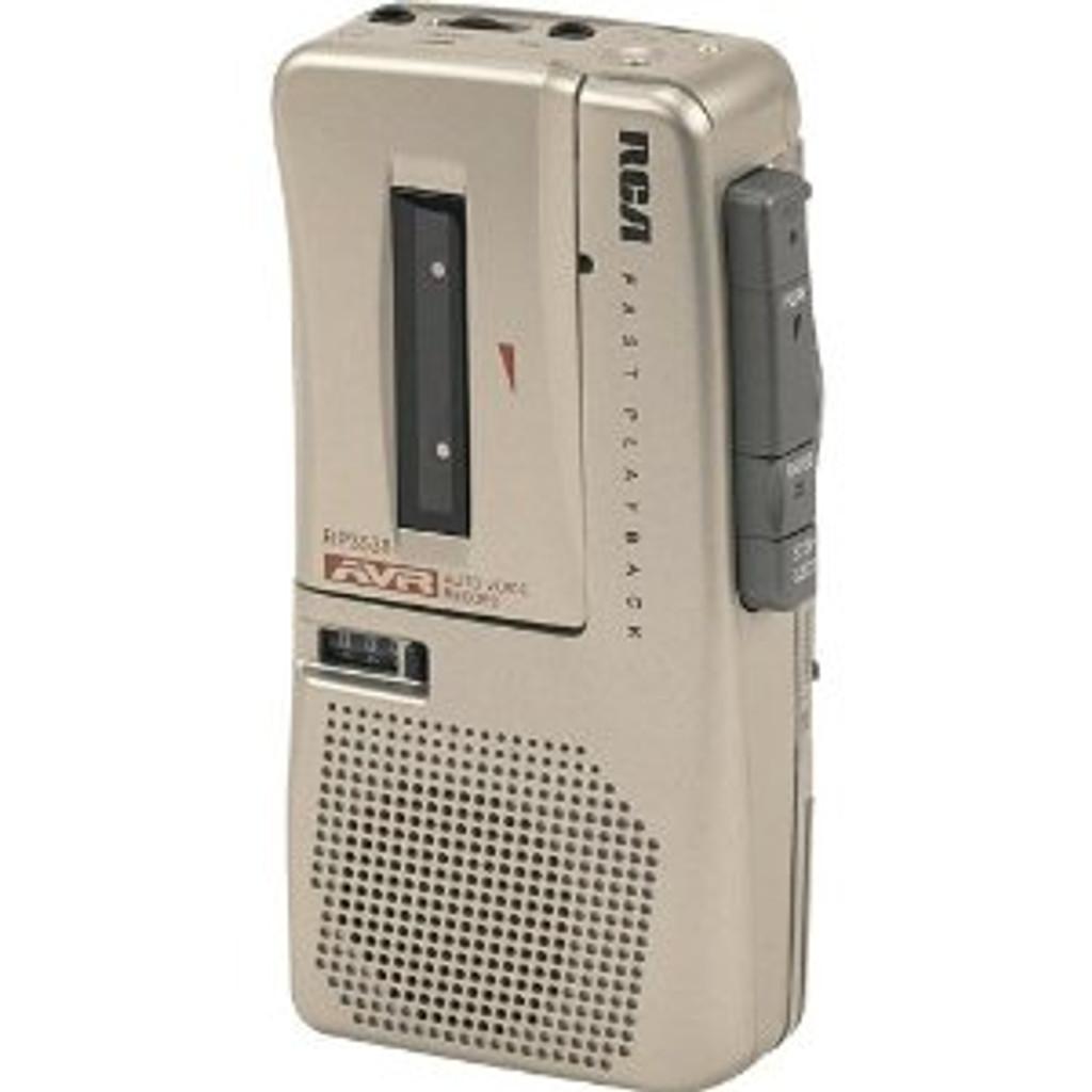 RCA RP3538 Microcassette Recorder