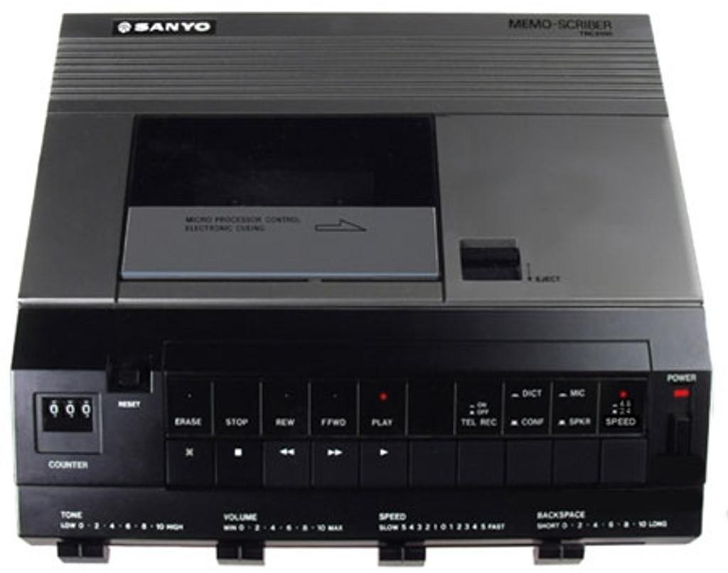 Sanyo TRC-9100 Standard Cassette Transcription Machine