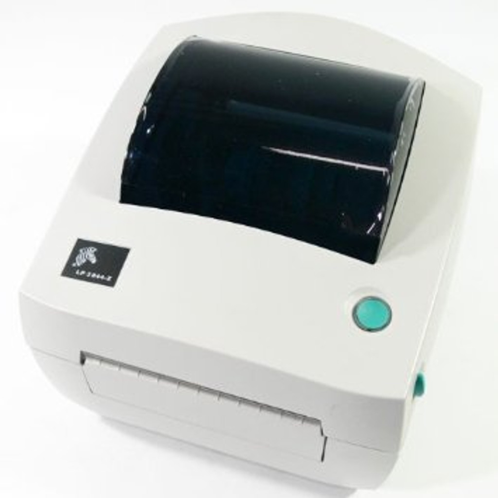 Zebra LP 3844‑Z Monochrome Direct Thermal Label Printer