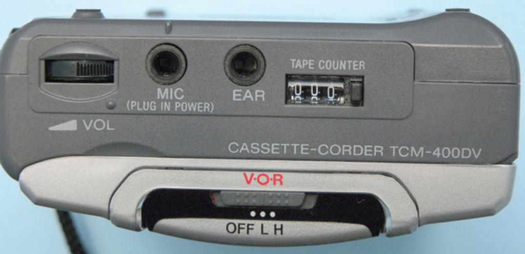 Sony TCM-400DV Pressman Standard Cassette Recorder