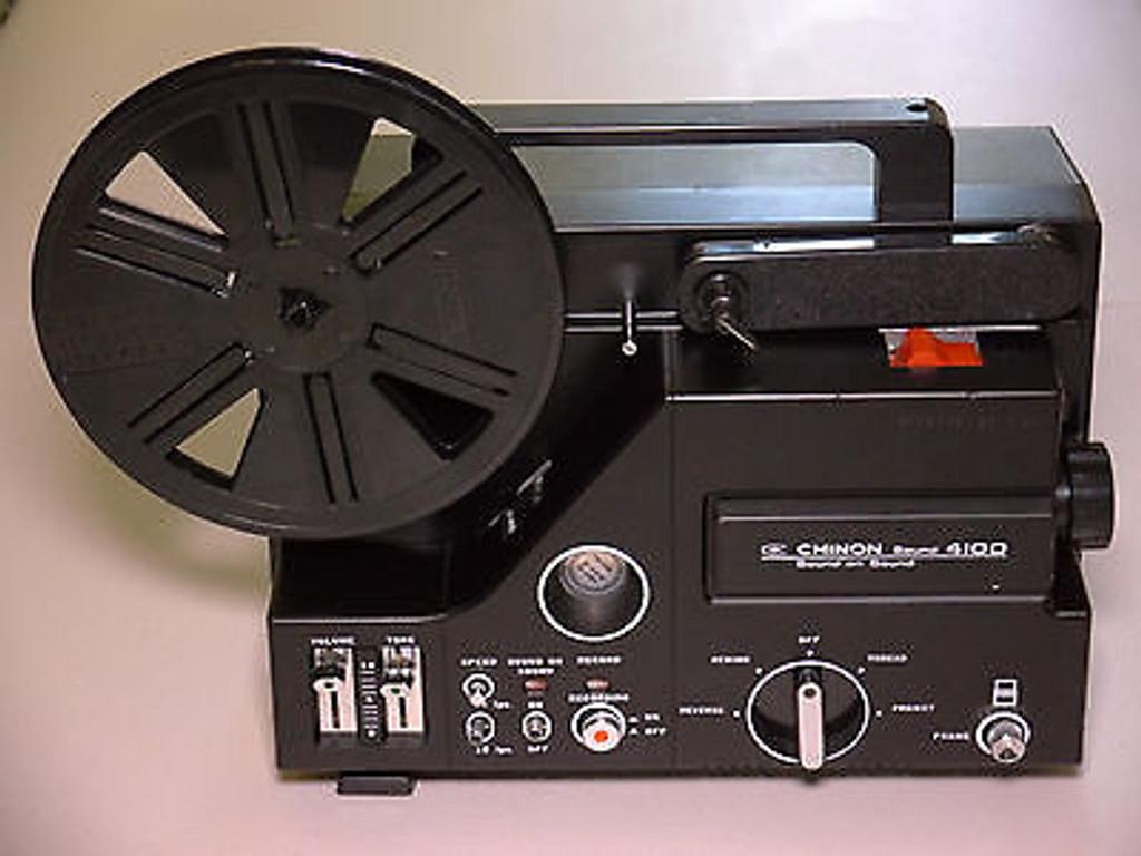 Chinon 4100 Super 8mm projector