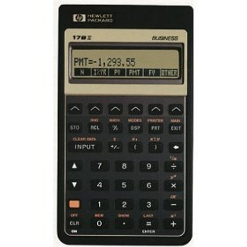 HP-17BII Financial Calculator