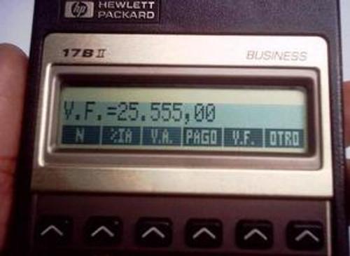 HP-17BII Financial Calculator