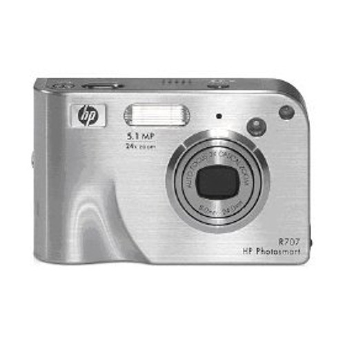 HP Photosmart R707 5MP Digital Camera