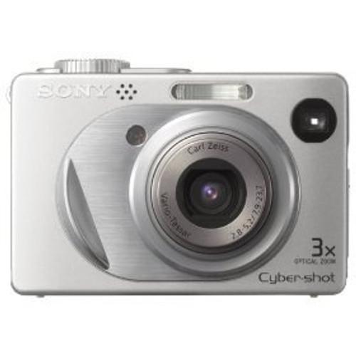 Sony Cybershot DSCW1 5MP Digital Camera with 3x Optical Zoom