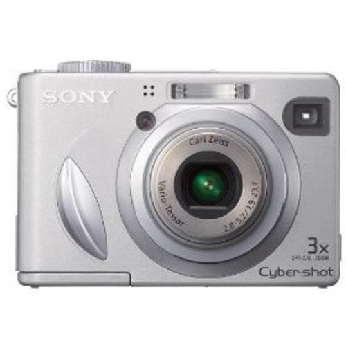 Sony Cybershot DSCW5 5.1MP Digital Camera with 3x Optical Zoom