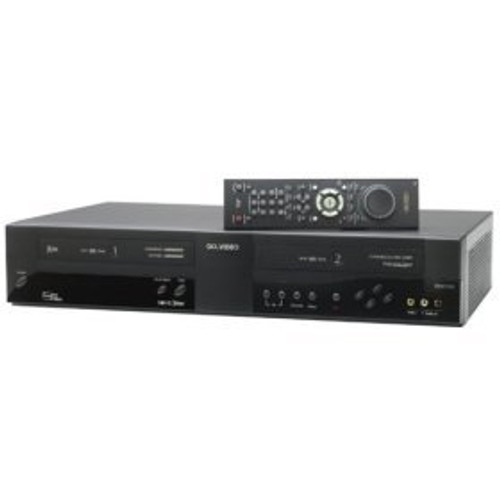 GoVideo DDV3120 Dual Deck VCR Go-Video