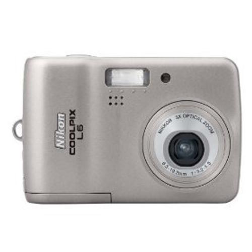 Nikon Coolpix L6 6MP Digital Camera