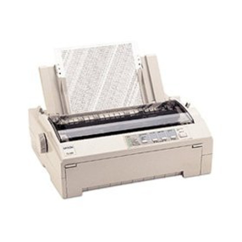 Epson FX 880+ Personal Printer - Dot-Matrix - 9 pin - Monochrome
