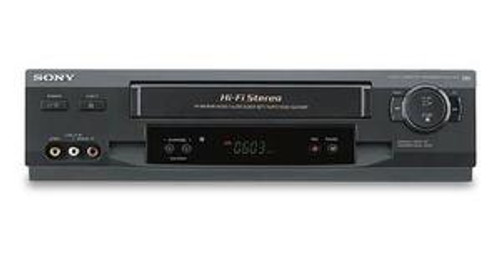 Sony SLV-N51 4-Head Hi-Fi VCR with Tuner
