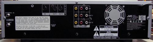 JVC HR-DVS2U Mini-DV/S-VHS Combo