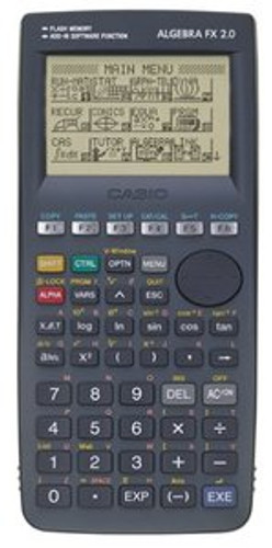 Casio Algebra FX 2.0 Graphing Calculator