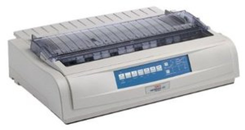 OKI Microline 420 Personal Printer - Dot-Matrix - 9 pin - Monochrome