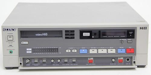 Sony EVO-9500A Videocassette Recorder