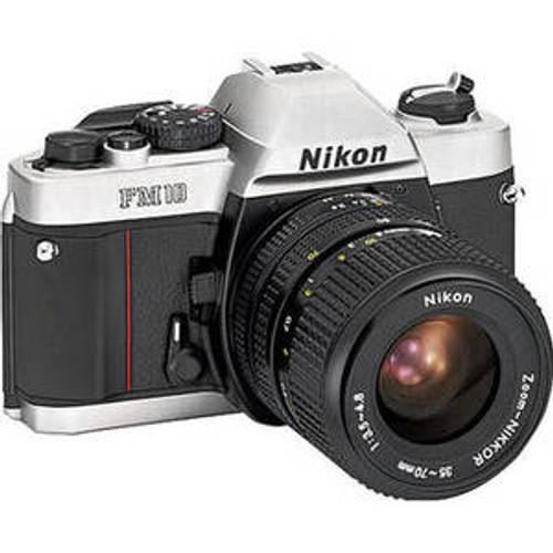 Nikon FM10 35mm SLR Film Camera with 35-70mm Lens