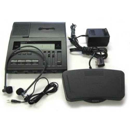 Sony BM-89 Standard Transcriber /Foot Pedal and Headset