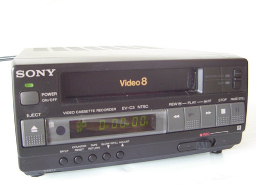 Sony EV-C3 Compact Video 8 VCR