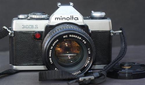 Minolta XG-1 35mm Camera with 50mm lens