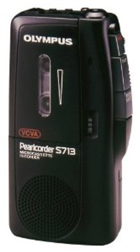 Olympus S713 Pearlcorder Microcassette Recorder