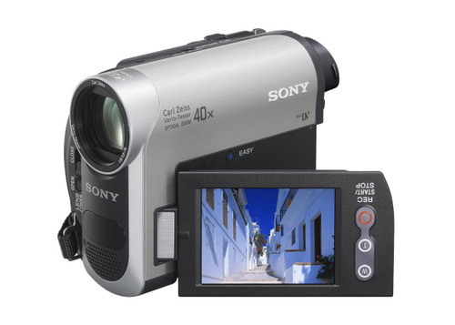 Sony DCR-HC38 MiniDV Handycam Camcorder with 40x Optical Zoom