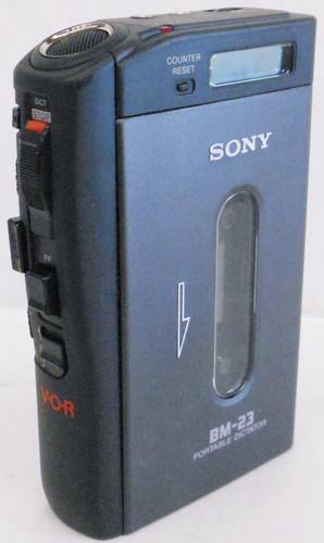 Sony BM-23 Standard Cassette Handheld Recorder