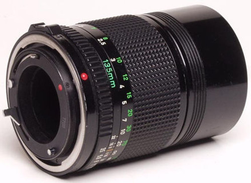Canon FD 135mm lens for 35mm Cameras