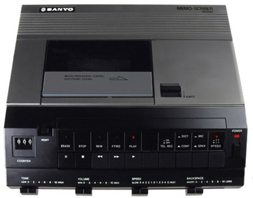 Sanyo TRC-9100 Standard Cassette Transcription Machine