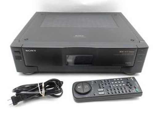 Sony SLV-R1000 S-VHS Hi-Fi Stereo Editing VCR Deck