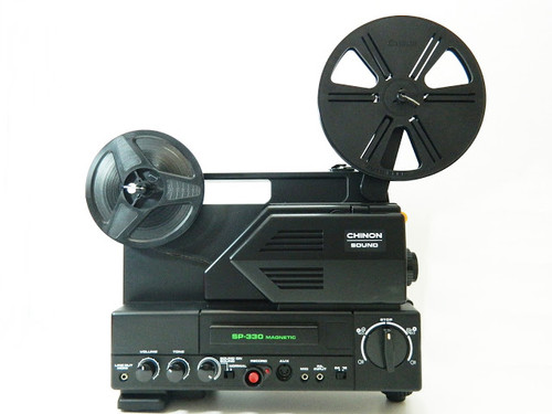 Chinon SP-330MV 8mm projector