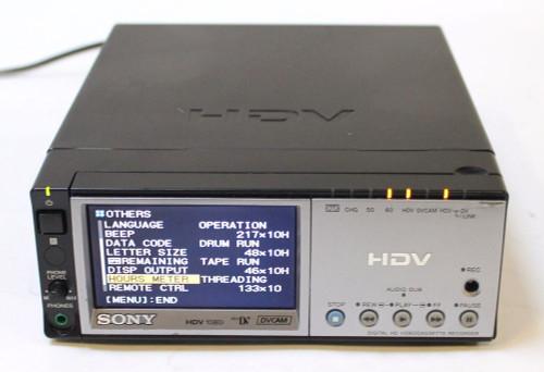 SONY HVR-M10U HDV 1080i Mini DV DVCam Video Recorder /Player