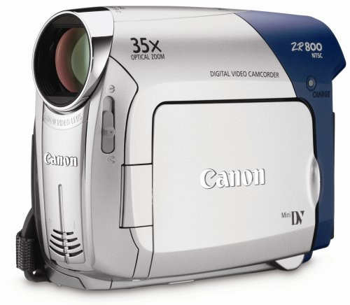 Canon ZR800 MiniDV Camcorder w/20x Optical Zoom
