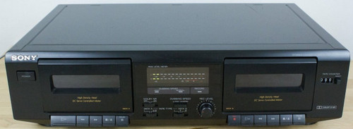 Sony TC-WE471 Stereo Double Cassette Player Recorder