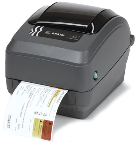 Zebra GX Series GX420t Monochrome Direct Thermal/Thermal Transfer Label Printer