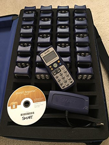 Smart Response PE Smart System Clicker (32 clickers 1 receiver) Audience Response System ARS