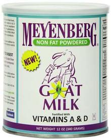 Powdered, Non Fat, 12 of 12 OZ, Meyenberg
